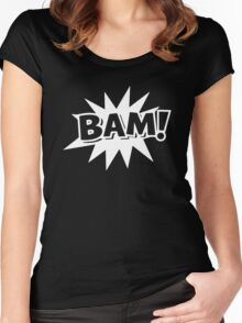 BAM Women's Fitted Scoop T-Shirt