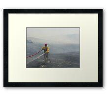 Cato Fire Framed Print