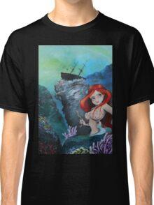 The Shipwreck Mermaid Classic T-Shirt