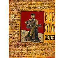 Dylan 1963 Photographic Print