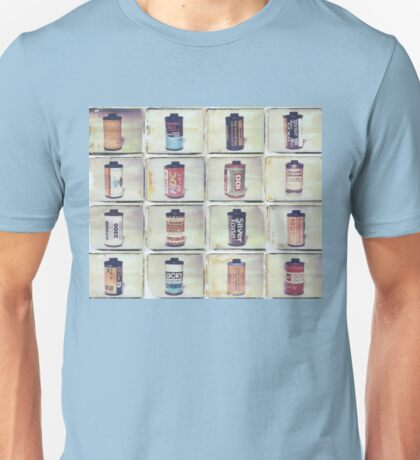 Film Collage #4 Unisex T-Shirt