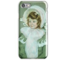 Mary Cassatt,  Child in Green Coat iPhone Case/Skin