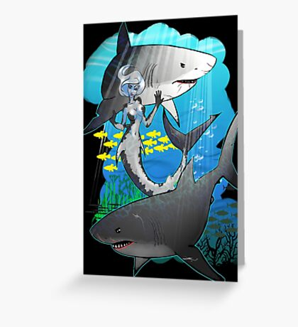 GreatWhites Greeting Card