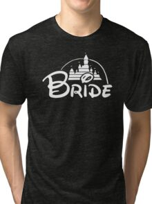 Bride Disney Tri-blend T-Shirt