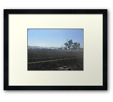 Highway to the Sun Framed Print