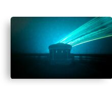 12 week exposure at Eastbourne Bandstand Canvas Print