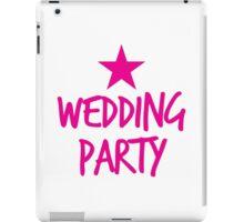 Wedding party STAR iPad Case/Skin
