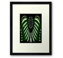 Alien Armour Framed Print