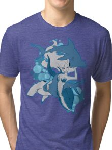 My Friends Tri-blend T-Shirt