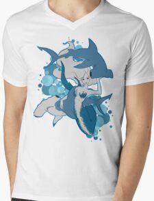 My Friends Mens V-Neck T-Shirt