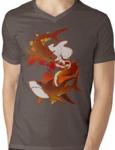 Tigers Mens V-Neck T-Shirt