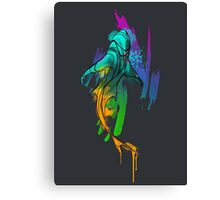 Watercolor Shark Canvas Print