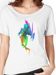 Watercolor Shark Women's Relaxed Fit T-Shirt