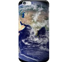 View of the Earth from space showing the eastern hemisphere. iPhone Case/Skin