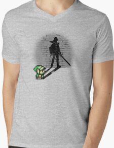 Becoming a Legend - Link Mens V-Neck T-Shirt