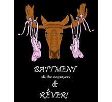 Battment & Rever (White Edition) Photographic Print