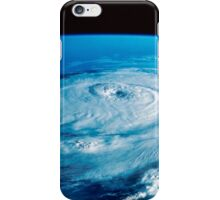 Eye of Hurricane Elena in the Gulf of Mexico. iPhone Case/Skin