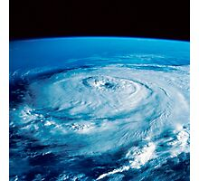 Eye of Hurricane Elena in the Gulf of Mexico. Photographic Print
