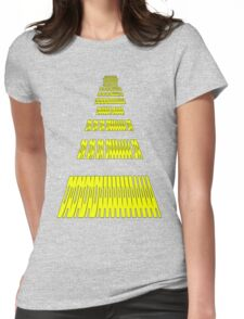 Phonetic Star Wars Womens Fitted T-Shirt
