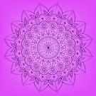 Lilac round ornate by Marishkayu
