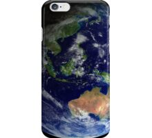 Full Earth from space showing Australia iPhone Case/Skin