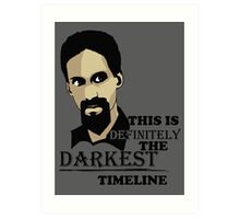The Darkest Timeline Art Print