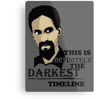 The Darkest Timeline Metal Print