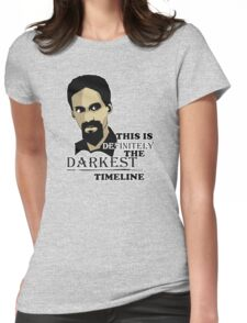 The Darkest Timeline Womens Fitted T-Shirt