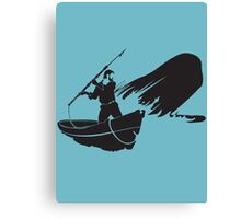 Moby Dick - Achab Canvas Print