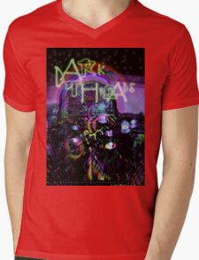 Cosmic Crustacean Mens V-Neck T-Shirt
