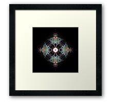 Earth Circle Framed Print