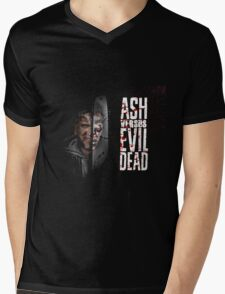 ash vs evil dead Mens V-Neck T-Shirt