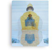 Buddhist Temples Metal Print