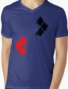HarleyQuinn Mens V-Neck T-Shirt