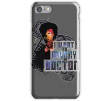 Marry a Doctor Smith iPhone Case/Skin