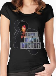 Marry a Doctor Smith Women's Fitted Scoop T-Shirt