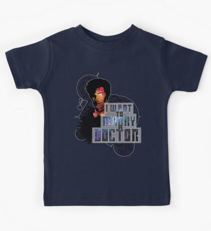 Marry a Doctor Smith Kids Tee