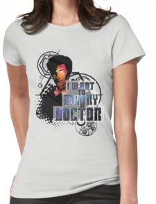 Marry a Doctor Smith Womens Fitted T-Shirt