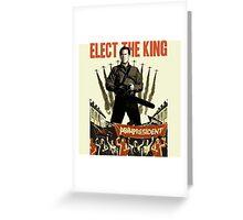 elect the king ash vs evil dead  Greeting Card