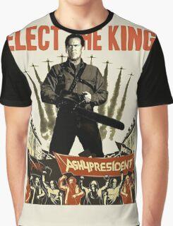 elect the king ash vs evil dead  Graphic T-Shirt