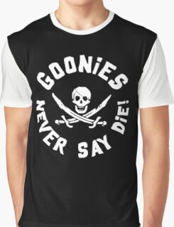 Goonies Never Say Die Graphic T-Shirt