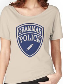 Grammar Police Women's Relaxed Fit T-Shirt