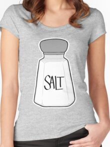 Salt Shaker Women's Fitted Scoop T-Shirt