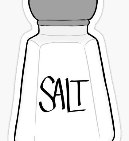 Salt Shaker Sticker