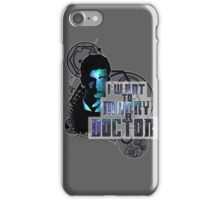 Marry a Doctor Tennant iPhone Case/Skin