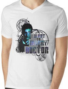 Marry a Doctor Tennant Mens V-Neck T-Shirt