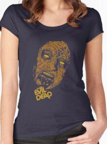 the evil dead ash Vs evil dead Women's Fitted Scoop T-Shirt