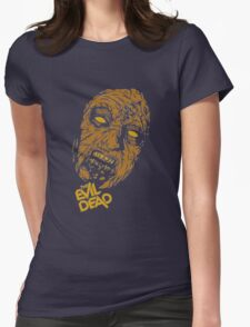 the evil dead ash Vs evil dead Womens Fitted T-Shirt