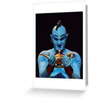Genie's Lamp Greeting Card