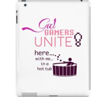 Girl Gamers Unite! iPad Case/Skin